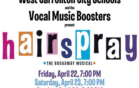"""""""Hairspray"""" at WCHS this weekend"""
