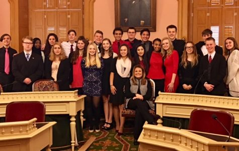 WCHS places third in We the People competition