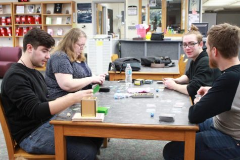 Game Club conquers Dungeons and slay Dragons